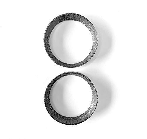 Qty 5 120-06310-0005 - Heavy Duty 2.5 ID 2 Bolt MLSG High Temp Exhaust Gasket - Ticon Industries 2.5 Inch