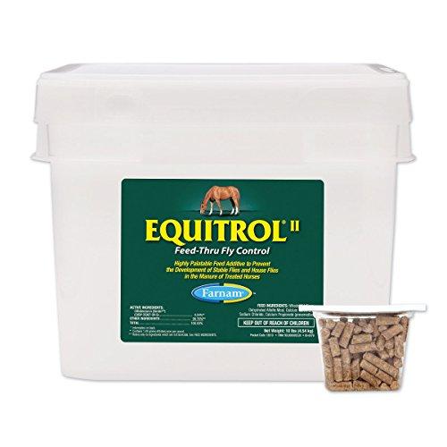 Equitrol Ii Feed-Thru Fly Control For Horses