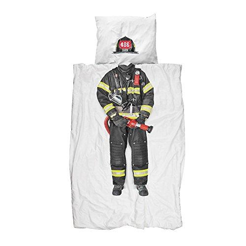 Snurk Parure de lit Pompier - 1 Personne 140x200 cm
