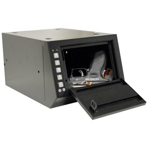 """10 x 3.5 x 7.5/"""" Homak HS10036683 accès électronique Pistolet Boîte//GUN Safe"""