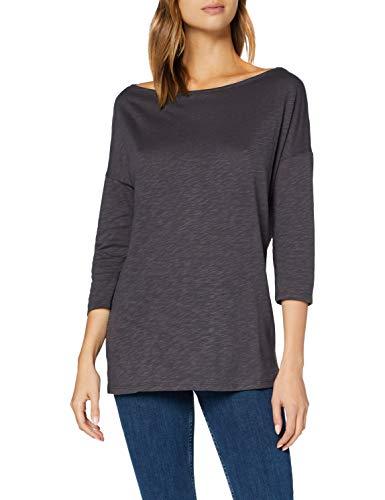 Sisley T-Shirt L/S, Nine Iron 041, S Donna