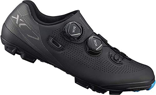 SHIMANO SH-XC701 LSG Series Off-Road Racing, XC Race, Cycling Bicycle Shoes, Black, 48 Wide