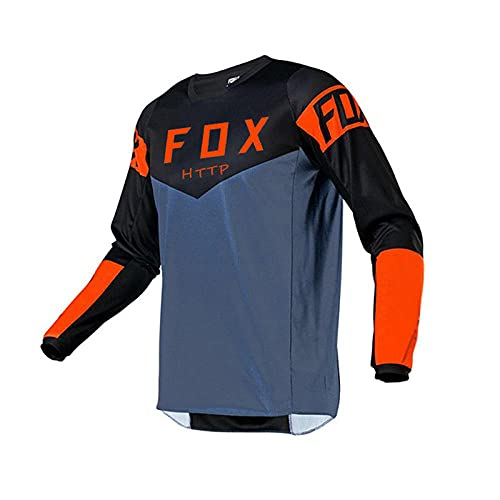 Jersey De Descenso Maillot Fox Jersey MTB Enduro Ciclismo Jersey Hombres Maillot...