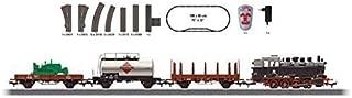 DIGITAL FREIGHT TRAIN STARTER SET W/PASSING SIDING - 3-RAIL -- GERMAN FEDERAL RAILWAY