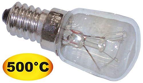 Glühlampe T.max. 500°C Fassung E14 25W 240V ø 24mm