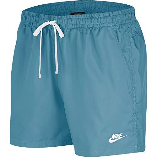 Nike M NSW Sce Short Wvn Flow, Uomo, Uomo, Pantaloncini, AR2382, ceruleo/Bianco, M