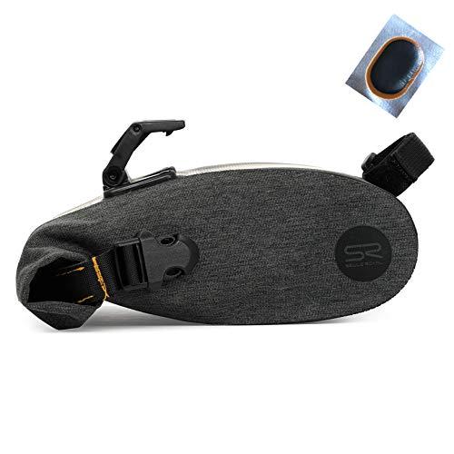 Maxxi4you - Bolsa para sillín de bicicleta (2 L, incluye 1 parche para manguera)