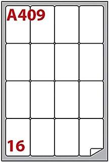 409 bianca 100fg a4 angoli tondi MARKIN etichetta adesiva a 16 et. 47,7x70mm