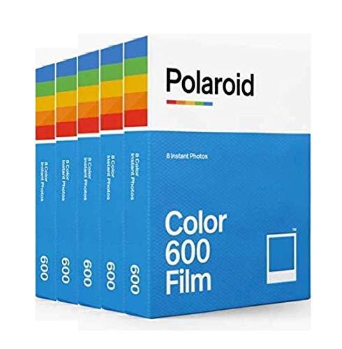 Polaroid インスタントフィルム Color Film for 600 ×40 Film Pack カラーフィルム 8枚×5パック入り【並行輸入品】