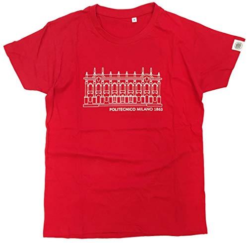 Politecnico Milano 1863, T-Shirt Uomo - Linea Campus (M)