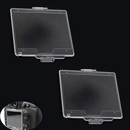 LCD Screen Cover Protector for Nikon D800 D810 D800E DSLR Camera Replace BM-12,Screen Protector Fire Rock for Nikon d800 d810 d800E Replace BM-12(2 Pack)
