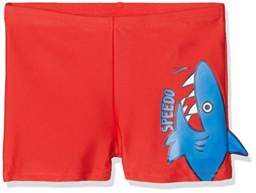 Speedo Mädchen Fin Friends Aqua Shorts One Size Risk Red/Neon Blue