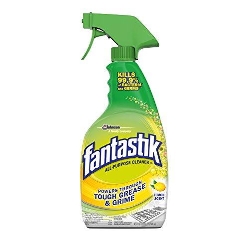 Fantastik All-Purpose Cleaner Trigger, Lemon Scent, 32 fl oz, Pack of 3