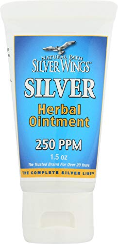 Natural Path Silver Wings Silver Herbal Ointment, 1.5 Fluid Ounce