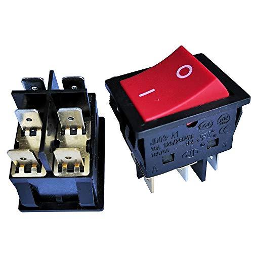 Interruptor basculante para máquina de soldadura inversor, JD03-A1, 6 pines, 125/250 V,...