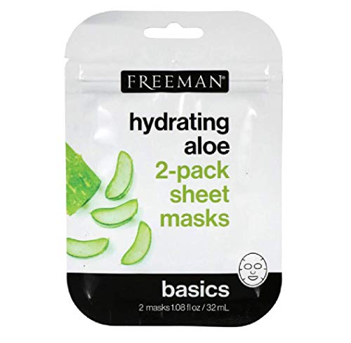 Freeman Hydrating Aloe Sheet Masks, 2-ct. Packs