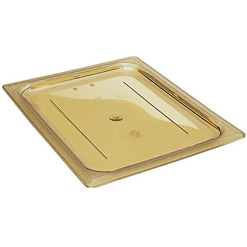 Fantastic Prices! Cambro 20HPC150 H-Pan Cover 1/2 size flat amber – Case of 6
