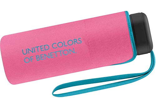 Benetton Taschenschirm Ultra Mini Flat Solid - Hot Pink