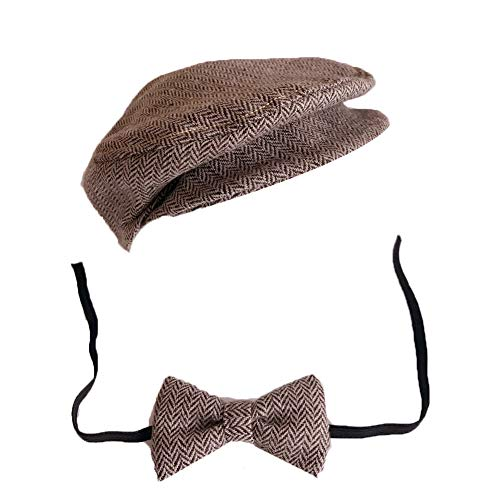Fantastic Prices! Anniston Baby Accessories, Newborn Baby Infant Boy Girl Peaked Cap Hat Bow Tie Pho...