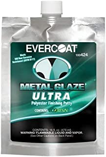 Evercoat Fibre Glass Metal Glaze Ultra, 16 oz. (FIB-424)