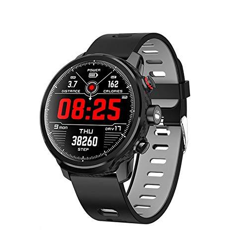 JIAJBG el Reloj de Manera Inteligente, Rastreador de Ejercicios Reloj Y la Pulsera Inteligente Ip67 a Prueba de Agua Reloj Bluetooth Deportivos Tracker, con el Podómetro, Cronómetro