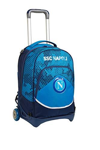 ssc napoli Trolley Jack, Napoli Live Match, Blu, Scuola & Tempo Libero, Unisex Bambini, Taglia Unica