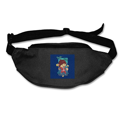 HKUTKUFGU Fanny Pack para Mujeres y Hombres Alex Kidd In Miracle World...