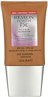 2 x Revlon Youth FX Fill + Blur Foundation SPF20-405 Almond