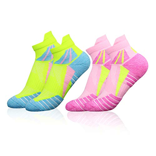 VFAMAN Running Socks for Women, Anti-Blister & Sweat-Wicking, Trainer,...
