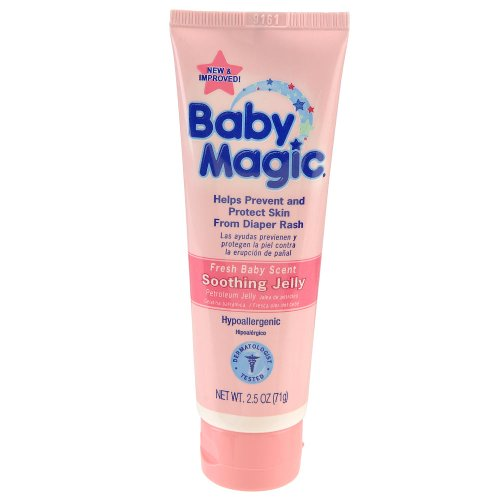 Baby Magic Soothing Jelly - Fresh Baby Scent: 2.5 OZ Tube
