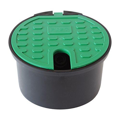 First Plast pza200-y Ventilbox Garten mit Ventil Frostschutz, Grün, 200mm