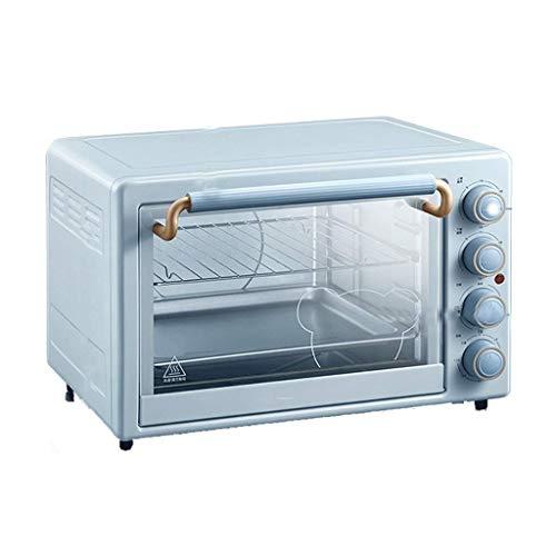 CCLLA Horno Tostador, Horno para el hogar, Multifuncional, automático, 35L, Gran Capacidad, Pan, Pastel, pequeño Horno eléctrico, Moda