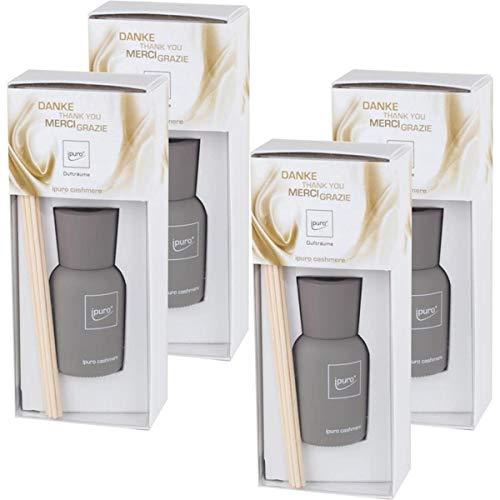 Essentials by Ipuro 50ml Cashmere Danke Raumduft (4er Pack)