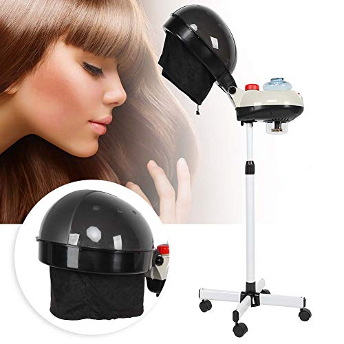 Qinlorgo Haardampfer, Salon-Haardampfer-Haarfärbungs-Dauerwellenöl-Behandlung-Friseur-Sorgfalt-Maschine(EU Plug 220-240V)