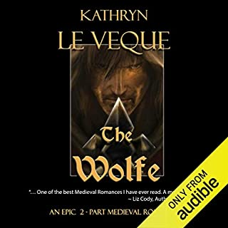 The Wolfe audiobook cover art