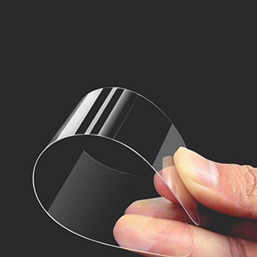 Eximmobile 3X Schutzfolien für Huawei Ascend Y530 Folie | Displayschutzfolie | Displayfolie Schutzfolie | selbstklebend | transparent | blasenfrei | kein Glas | Flexible Folien - 3
