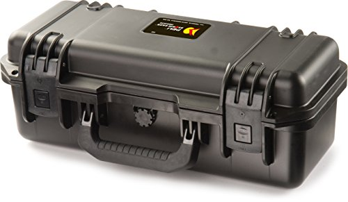 PELI Storm IM2306 valise de transport antichoc pour équipement fragile, étanche à l'eau et à la poussière, capacité de11L, fabriquée aux États-Unis, avec insert de mousse personnalisable, noire