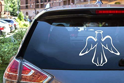 Auto Aufkleber Auto Aufkleber Modernen Heiligen Frieden Schutzengel Aufkleber Für Fenster Tür Laptop Kajak Spielzeug Dekor Vinyl Aufkleber 12.7 Cm