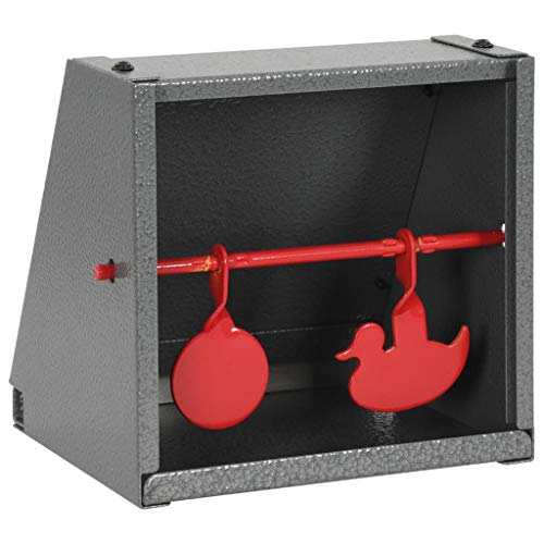 vidaXL Objetivo de Tiro de Dos Figuras Redondo y Diseño Pato Diana Tiro Caza Accesorios Tiro Precisión Entrenamiento Competiciones Sin Montaje
