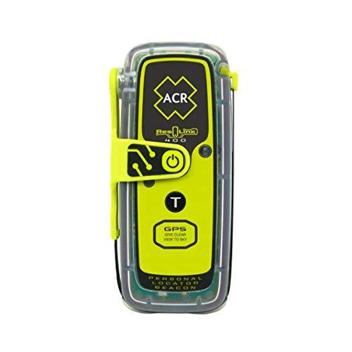 ACR ResQLink 400 - Baliza de Localización Personal de GPS Flotante (Modelo: PLB-400) - Programado para el Resto del Mundo con Brazalete Giant Loop