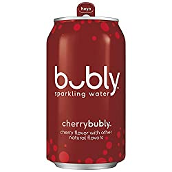 bubly sparkling water cherry flavor