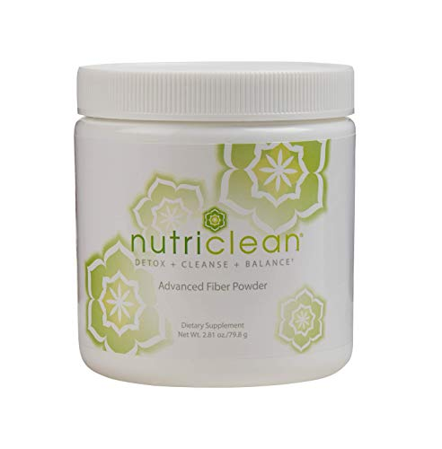 NutriClean 7 Day Cleansing System with Stevia, Detox, Cleanse, Advanced Fiber Powder, Maintain Digestive Health, Helps Cleanse the Colon, Market America (7 Servings)