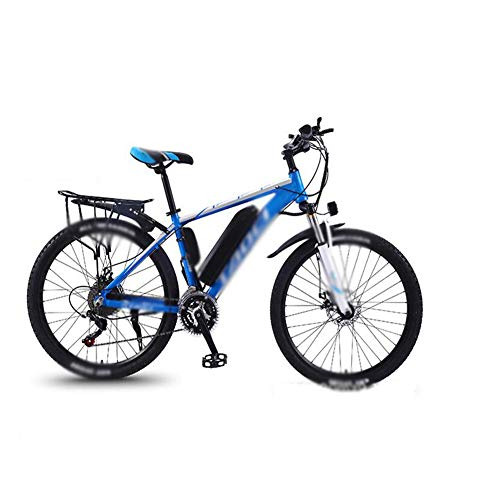 FZYE 26 in Electric Bikes Bicycle,36V/13A Power Shift Mountain Bike Cycling Travel Work Out,Blue