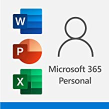 Microsoft 365 Personal | 12-Month Subscription, 1 person| Premium Office Apps | 1TB OneDrive cloud storage | PC/Mac Download