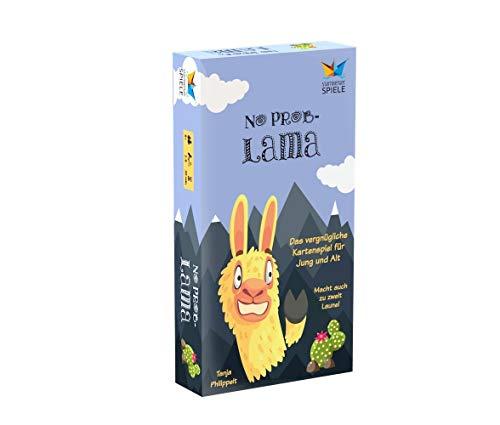 No Prob-Lama von Starnberger Spiele - Lustiges Kartenspiel für die ganze Familie - Geschenk für Lama- und Alpaka-Fans