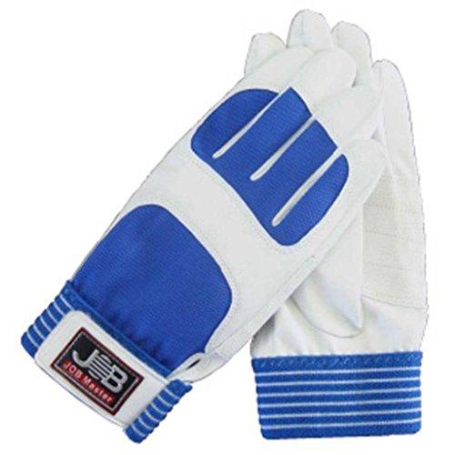 (まとめ) 作業用手袋/スパイダー1 【Lサイズ×5セット/ホワイト (白)】 洗える ジョブマスター JWG-150WL