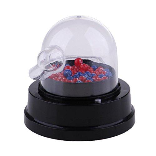 Elektrische Lotto Bingospiel Lostrommel Lottospiel Glückszahl Auswahlen Maschine für Lotterie Bingo Spiele