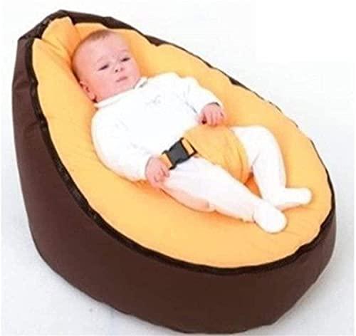 XINGYANG Sofá Perezoso/Mini Saco de Dormir para Niños sin Relleno para niños, Silla Reclinable con Cinturón de Seguridad Ajustable, 65 * 40 * 20 cm (después del llenado),B5