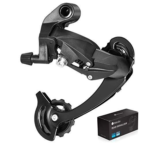 Inkesky 7/8/9 Speed Bike Rear Derailleur - Direct Mount - Long Cage(SGS) - Compatible with Shimano for Mountain Bike, MTB Cycling