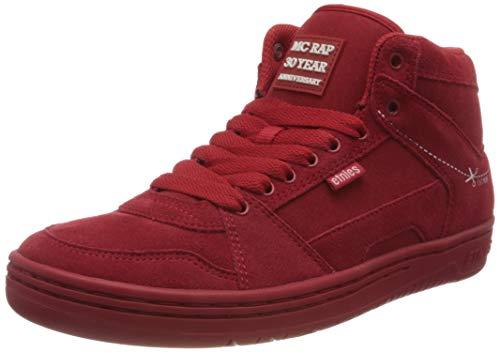 Etnies MC Rap High, Chaussure de Skate Homme, Rouge Blanc, 48 EU